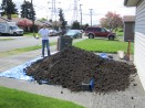 4 cubic yards of fresh soil