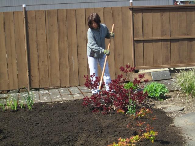 Spreading Fresh Dirt
