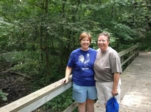 Jen and Kathy